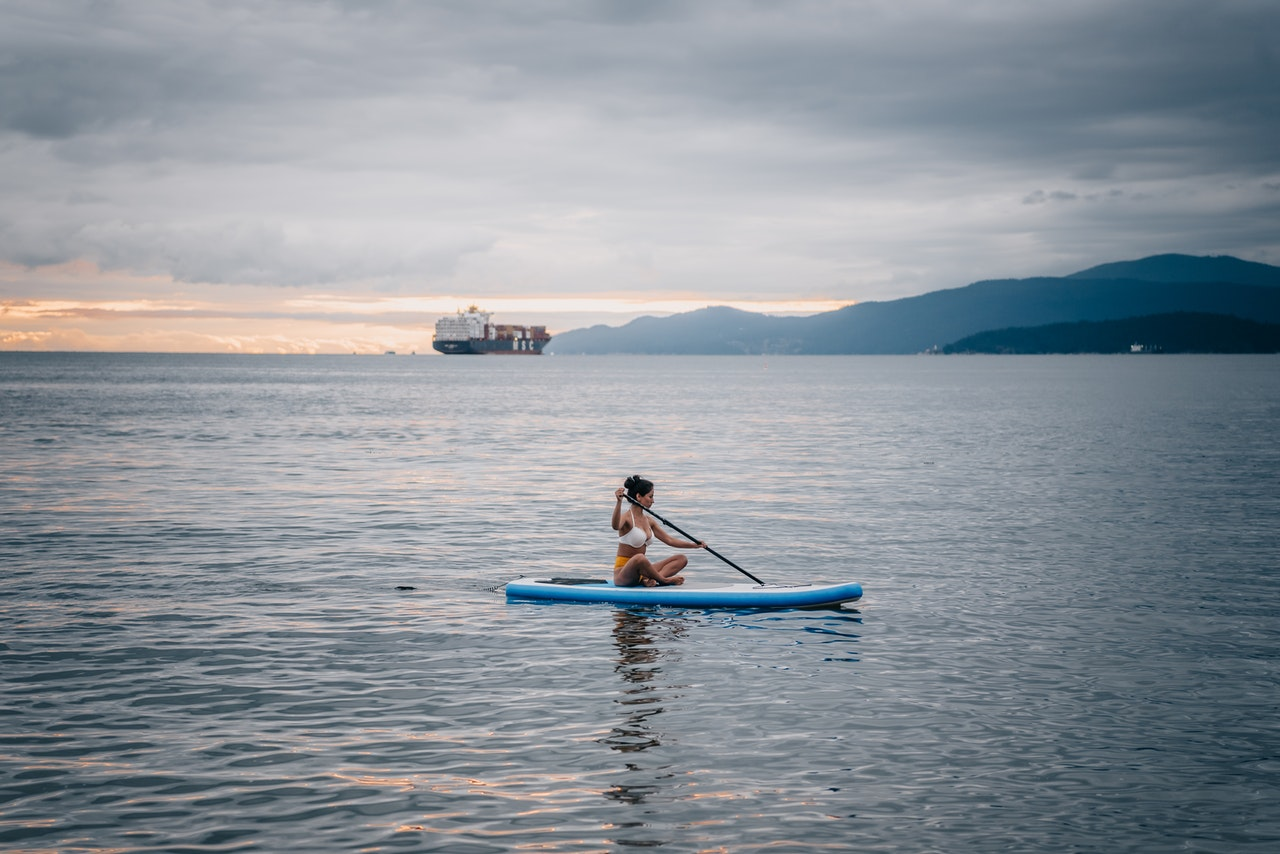 The mental health benefits of paddle boarding