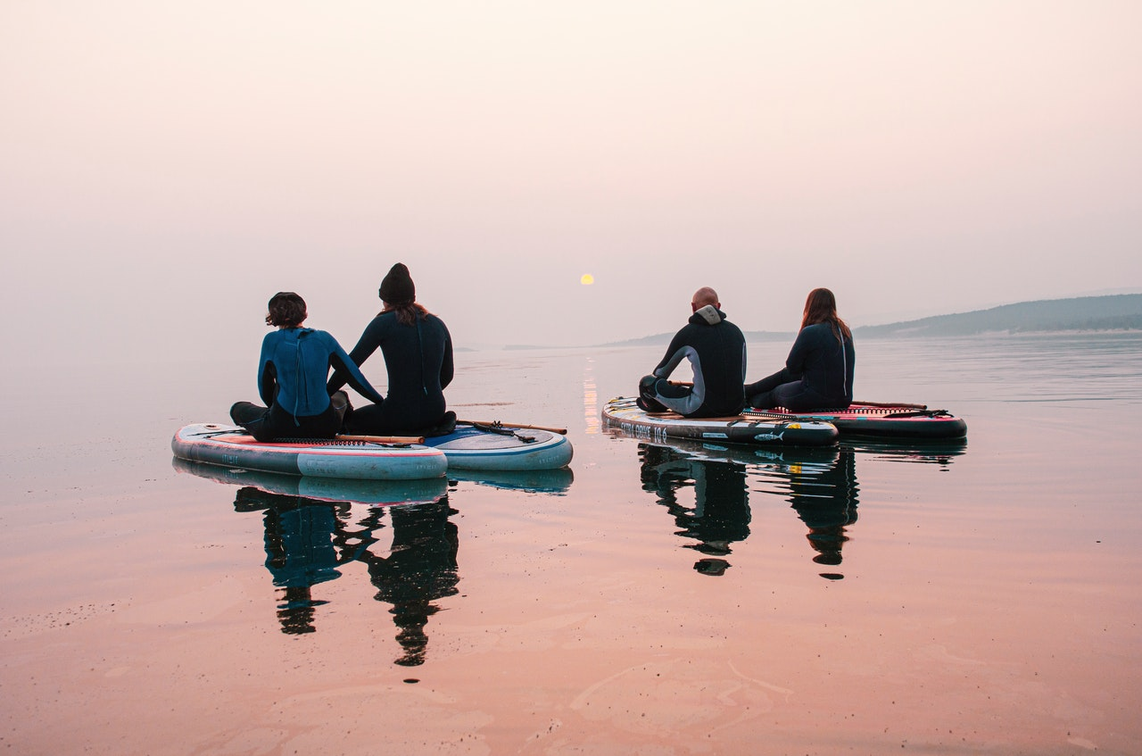 How to have fun when paddle boarding